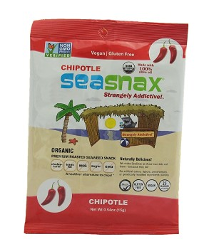 SeaSnax Organic Chipotle Single